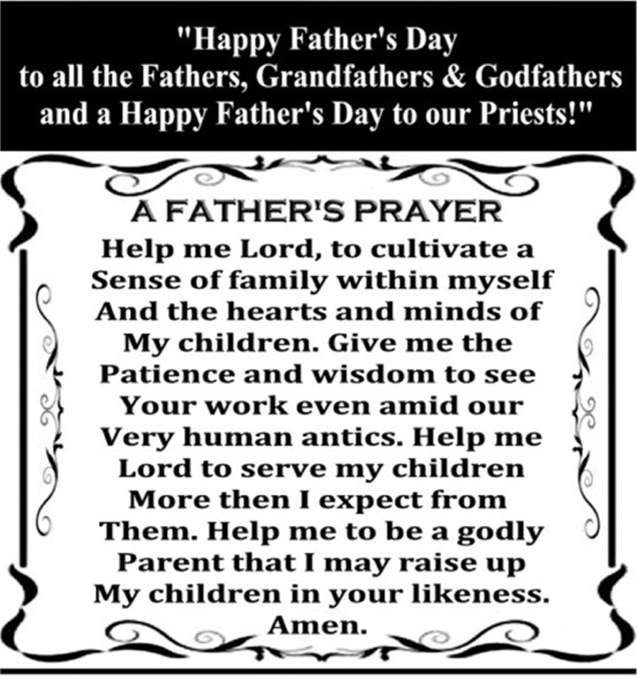 A Father's Prayer for the Website