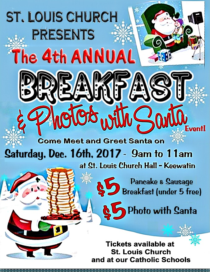 Breakfast with Santa 4th Annual Dec 16, 2017 4.5 by 6 for website