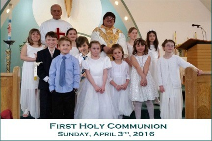 First Holy Communion with captions  April 3, 2016.edited