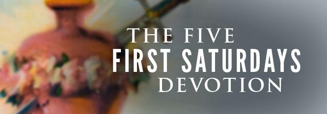 First-Saturdays devotions