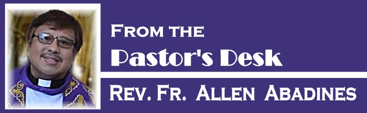 From the Pastor's Desk for website purple
