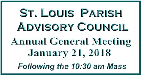 St. Louis Parish Advisory Meeting