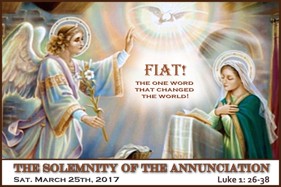 The Annunciation slider 6 by 4 March 25th