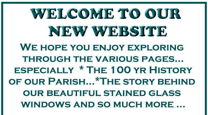 Welcome to our new 2016 Website
