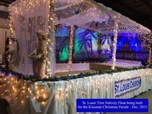 Nativity float 1