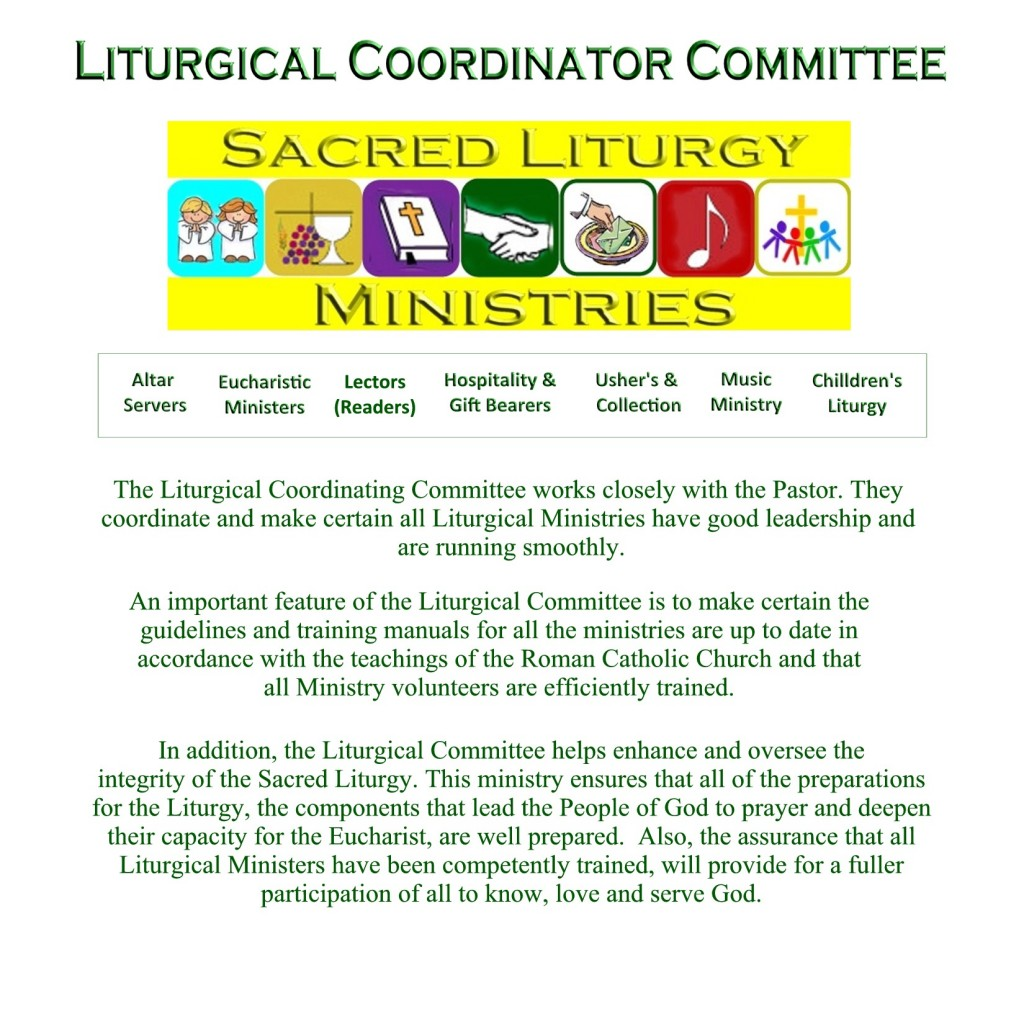 Liturgical Coordinating Committee for website