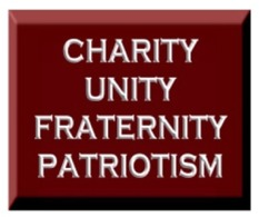 Charity Unity Fraternity Patriotism