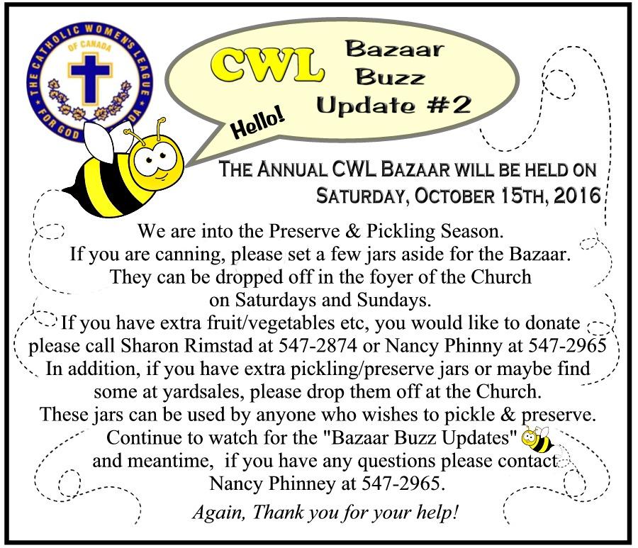 CWL Bazaar Buzz Update 2
