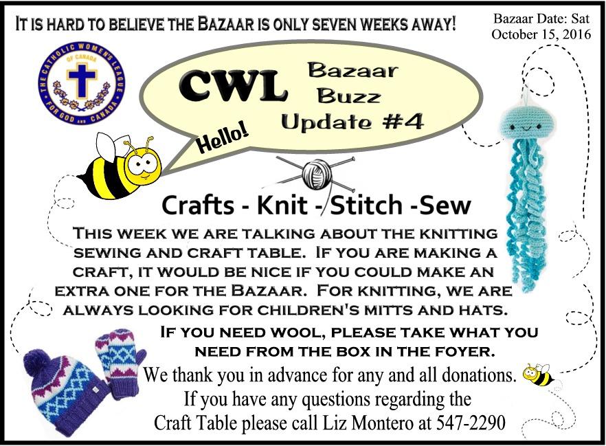 CWL Bazaar Buzz Update 4