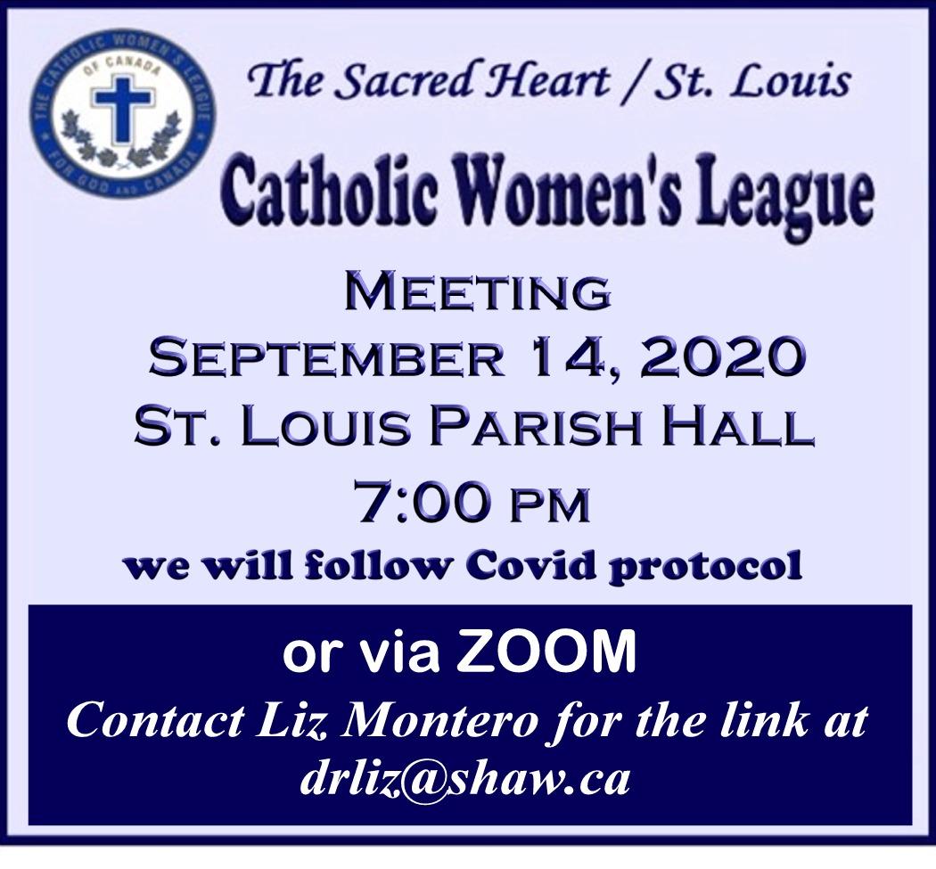 CWL Meeting Sept 14, 2020