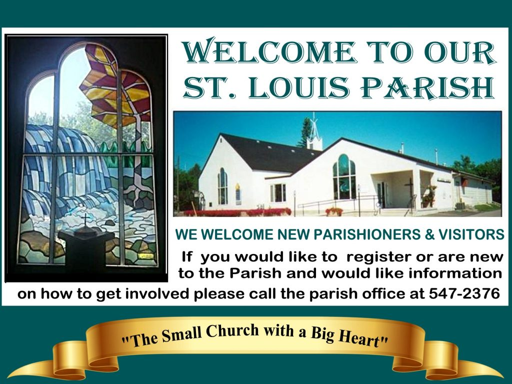 Slider - Welcome to Our St. Louis Parish edited version