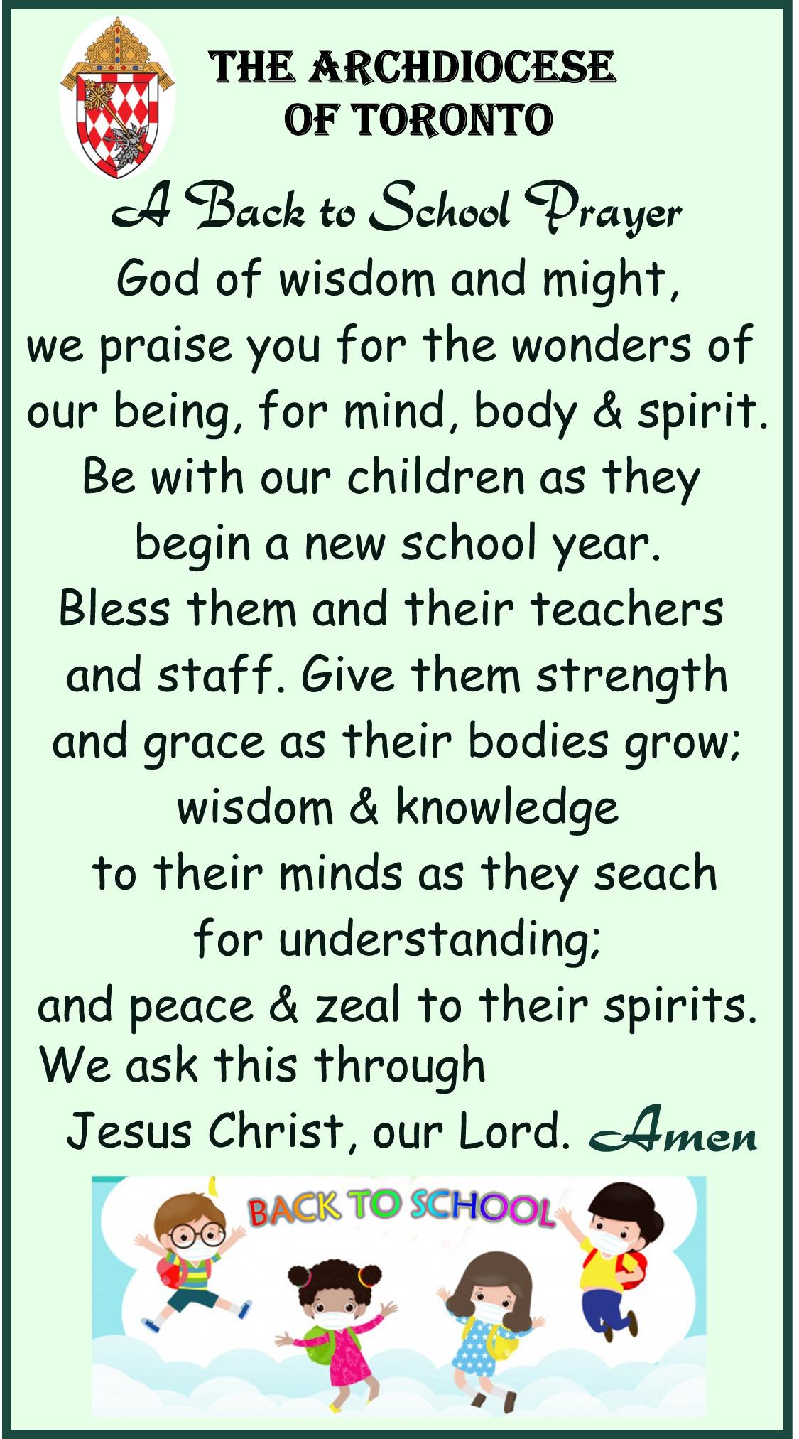 St. Louis Prayer for our children