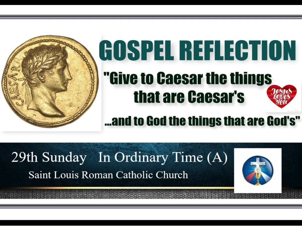 St. Louis Slider 29th Sunday in Ordinary Time (A)