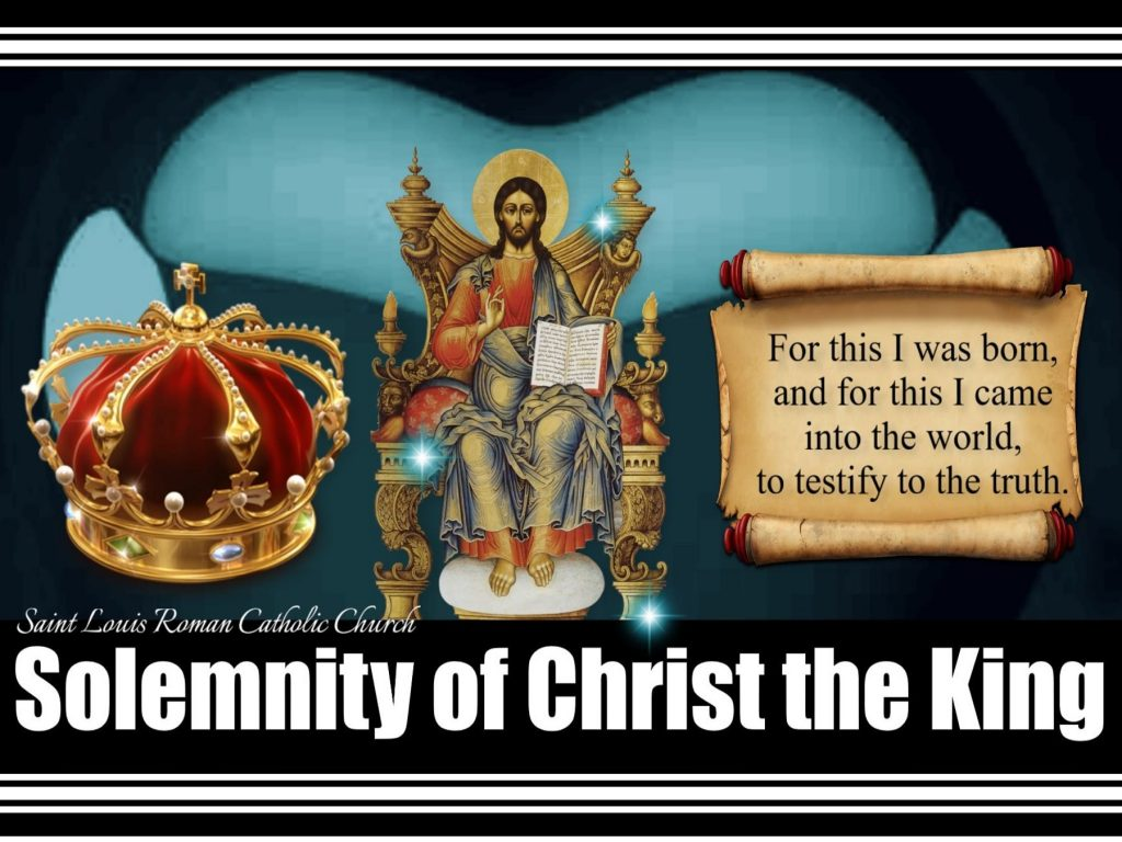 St. Louis Slider - Solemnity of Christ the King Noov 22, 2020