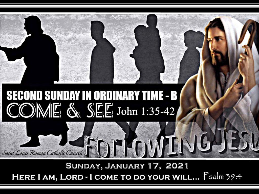 St. Louis - Slider - Jan. 17, 2021 - 2nd Sunday Ordinary Time - B