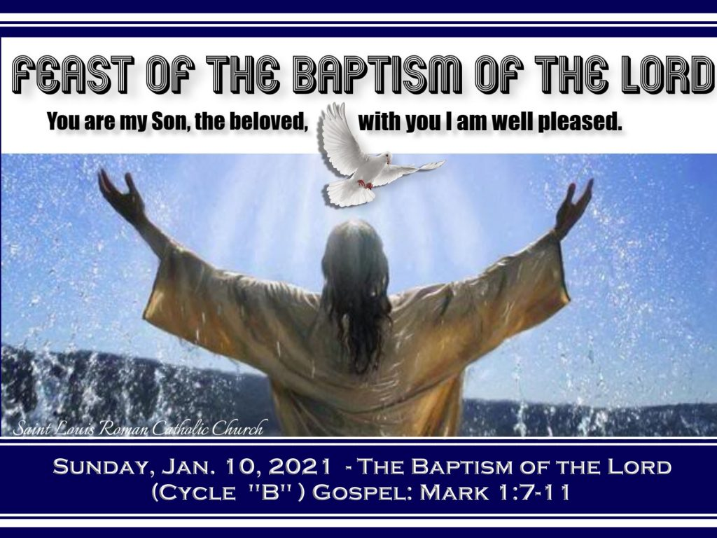 St. Louis - Slider - Sun. Jan 10, 2021 - Baptism of the Lord