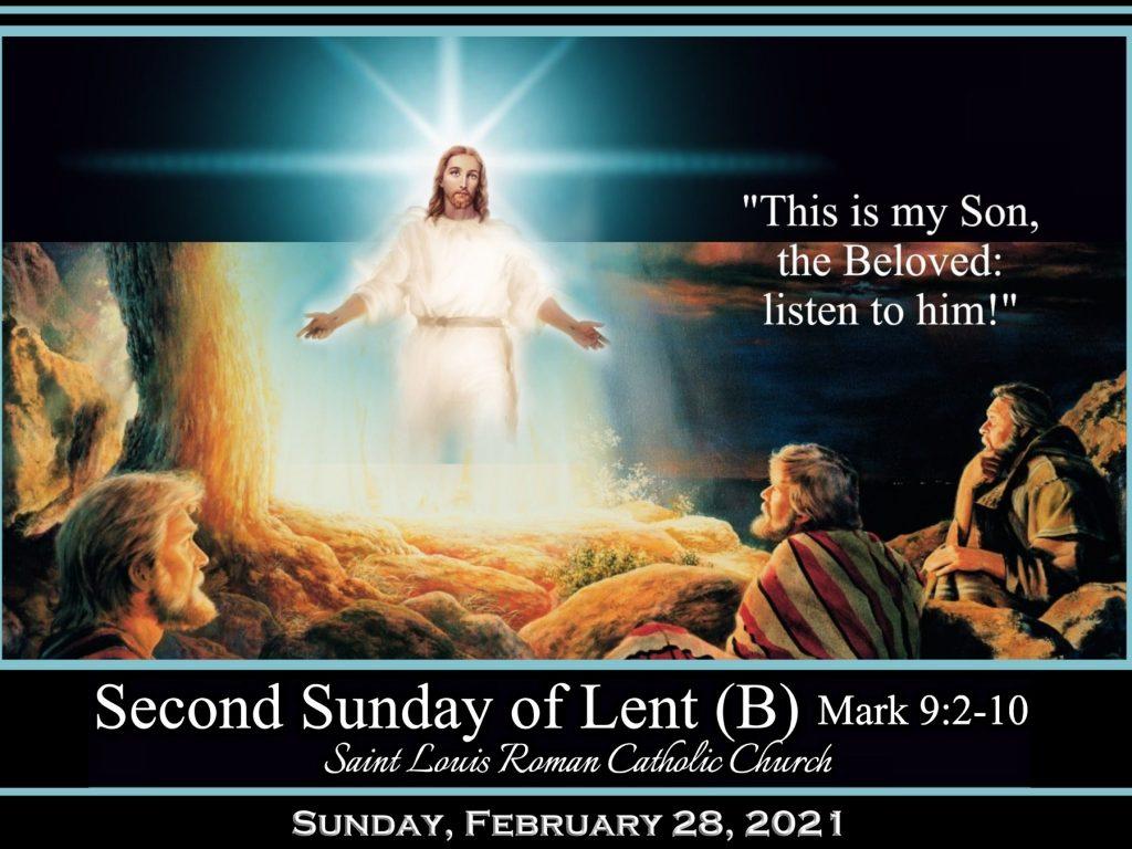St. Louis - Slider Feb, 28, 2021 - 2nd Sunday of Lent