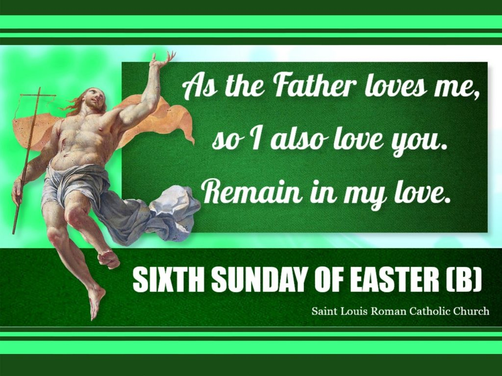 St. Louis - Slider - 6th Sunday of Easter