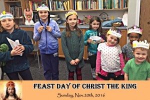 Feast Day of Christ the King - celebrated by the children of St.Louis take 2